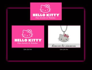 hellokittyfinejewelry.com screenshot