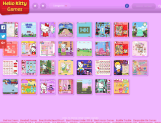 hellokittygames.info screenshot