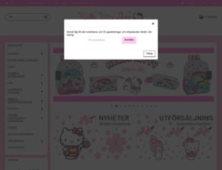 hellokittyshoppen.se screenshot