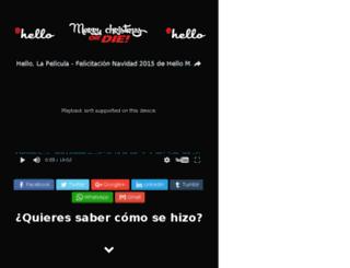 hellolapelicula.com screenshot