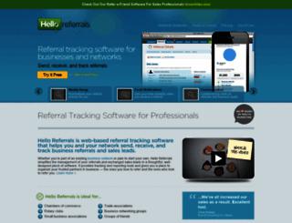 helloreferrals.com screenshot