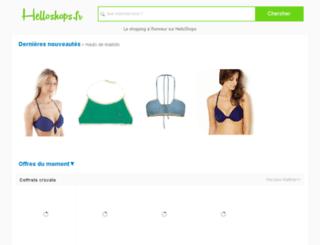 helloshops.fr screenshot