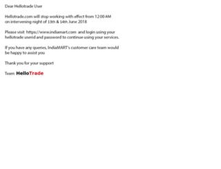 hellotrade.com screenshot