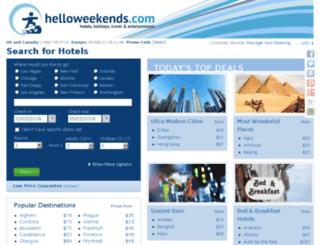 helloweekends.com screenshot