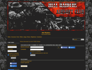 hellraiders.foroactivo.com screenshot