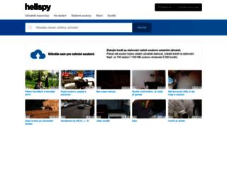 hellspy.cz screenshot
