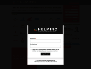helminc.com screenshot