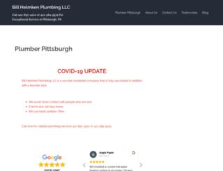 helmkenplumbing.com screenshot
