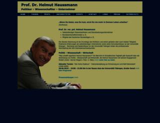 helmut-haussmann.de screenshot