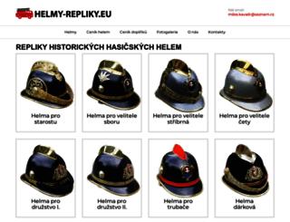 helmy-repliky.eu screenshot