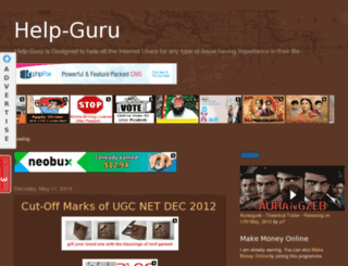 help-guru.blogspot.com screenshot