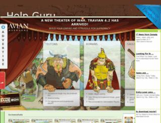 help-guru.blogspot.in screenshot