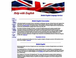 help-with-english.com screenshot