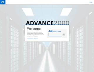 help.advance2000.com screenshot