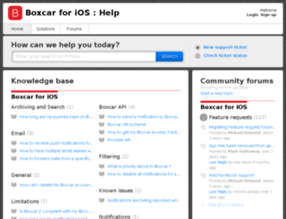 help.boxcar.io screenshot