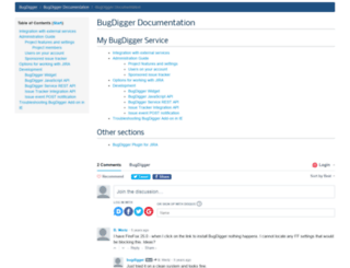 help.bugdigger.com screenshot