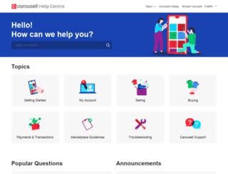 help.carousell.com screenshot