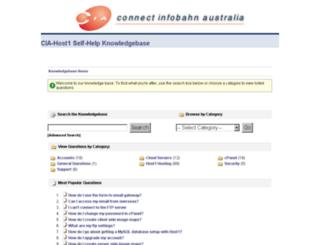 help.cia.com.au screenshot