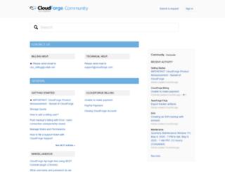 help.cloudforge.com screenshot