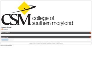 help.csmd.edu screenshot
