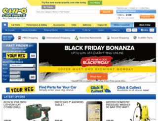 help.eurocarparts.com screenshot