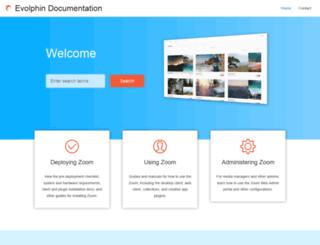 help.evolphin.com screenshot