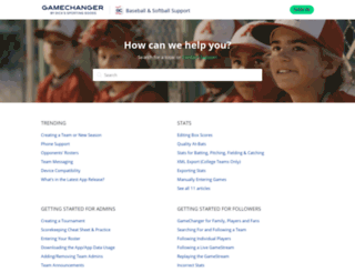 help.gc.com screenshot