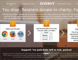 help.givebuy.org screenshot