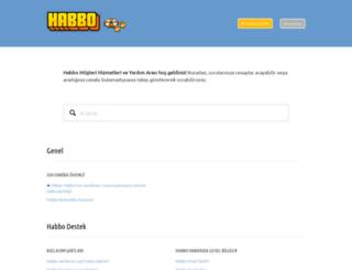 help.habbo.com.tr screenshot