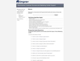 help.imprev.net screenshot