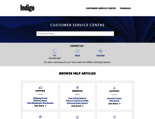 help.indigo.ca screenshot