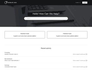 help.involve.asia screenshot