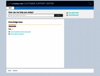 help.jamorama.com screenshot