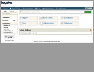 help.linkworth.com screenshot