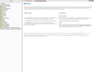help.mamut.com screenshot