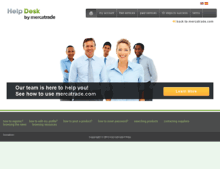 help.mercatrade.com screenshot