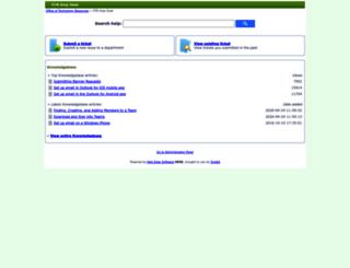 help.mga.edu screenshot