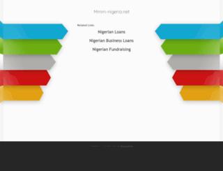 help.mmm-nigeria.net screenshot