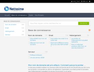 help.netissime.com screenshot