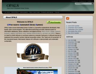 help.opalsinfo.net screenshot