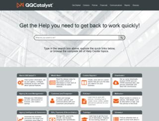 help.qqcatalyst.com screenshot