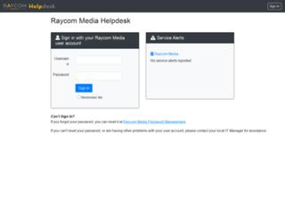 help.raycommedia.com screenshot