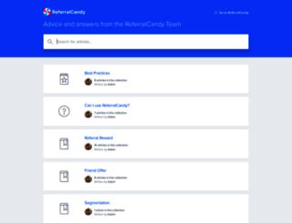 help.referralcandy.com screenshot