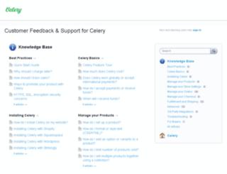 help.trycelery.com screenshot