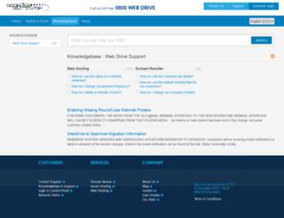 help.webdrive.co.nz screenshot