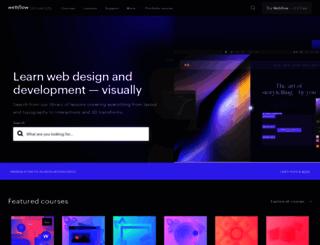 help.webflow.com screenshot