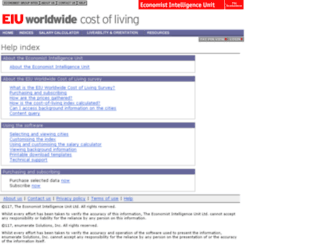 help.worldwidecostofliving.com screenshot