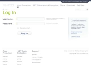 help.xheo.com screenshot