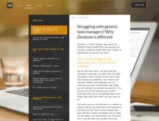 help.zendone.com screenshot