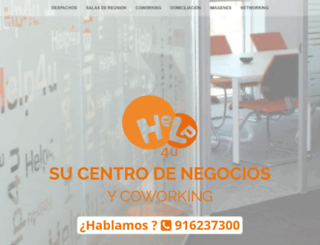 help4u.es screenshot
